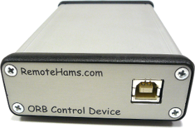 Rear View ORB Control Device, RCForb Client, Online Remote Base
